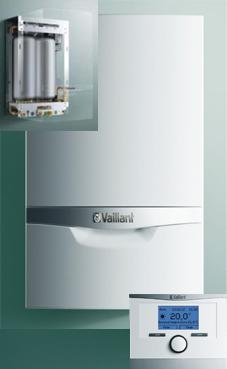 VAILLANT ECOTEC PLUS 306 30 KW (VMW ES 306/5-5) con actoSTOR VIH CL 20 S con plantilla y kit evac.PP